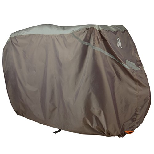 "Nicely Neat Bicycle Protector – Lockable, Waterproof Bike Cover for Outdoor Protection from Sun, Rain, and Dust – ""Deflector"""