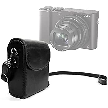 Duragadget durable ultra portable retro inspired compact camera case in classic - Lumix classic ...
