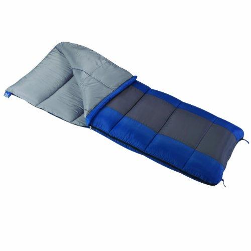 (Wenzel Sunward 30 Degree Sleeping Bag, Blue/Grey, 33 x 78-Inch)