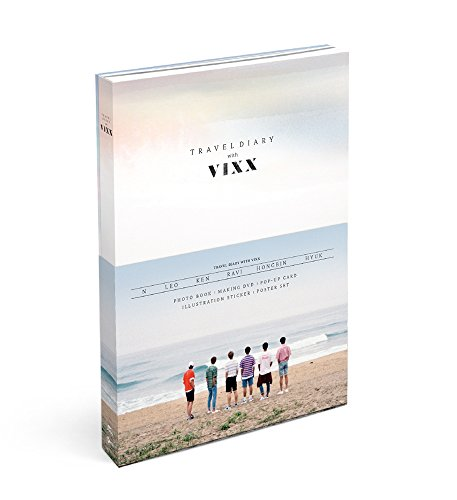 2016 Photobook Travel Diary with VIXX [+ DVD + Secret Envelope + Extra Photocard Set]