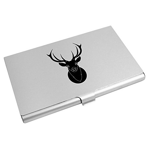 Azeeda Card Stag Holder Head' CH00002868 Wallet Business Credit Card 'Black xrrnHI