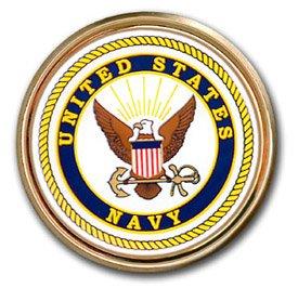 Americas & Americas Navy Seal Chrome Automobile Emblem