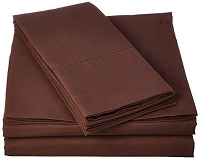 Bed Sheet Bedding Set, 100% Soft Brushed Microfiber with Deep Pocket Fitted Sheet, 1800 Luxury Bedding Collection, Hypoallergenic & Wrinkle Free Bedroom Linen Set