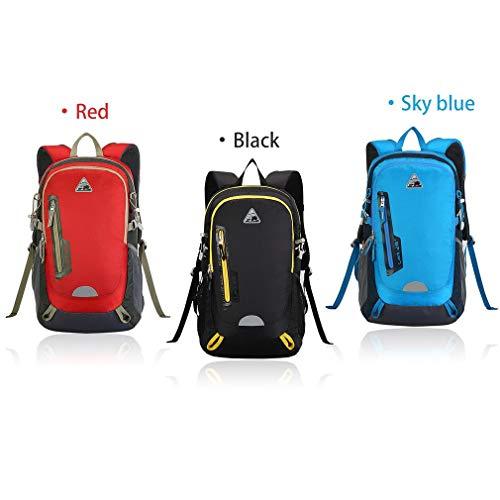 YTYC KIMLEE Male Female Double Shoulder Bag Waterproof Mountaineering Backpack by YTYC (Image #3)