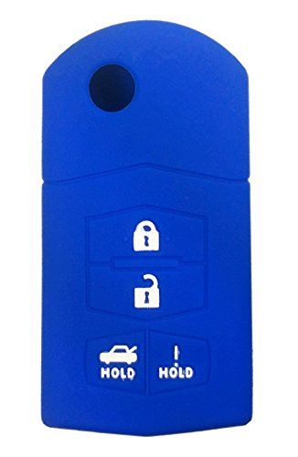 715776343472 Silicone Key Fob Cover Case Protector Smart Remote Control Shell Keyless Entry Case Holder Cover For Mazda 3 5 6 CX-7 CX-9 RX-8 MX-5 Miata