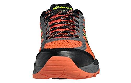 Zapatillas De Running Para Mujer Asics Fujitrabuco 5 Fl.coral / Saf.yellow / Black