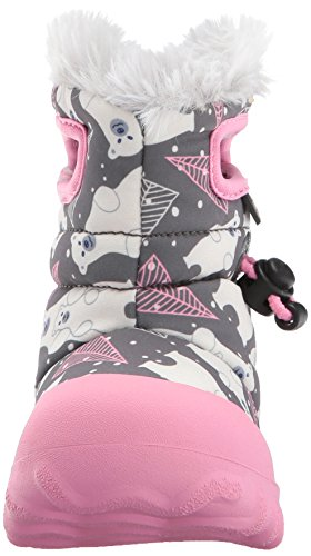 Boot Multi Grey Toddler Waterproof Bears Dark Moc Bogs Kids' B Winter Insulated 6cqU0UP41v