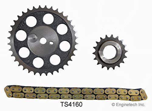 (Enginetech TS4160 Timing Set AMC 4.0L 242 SINGLE ROLLER CHAIN)