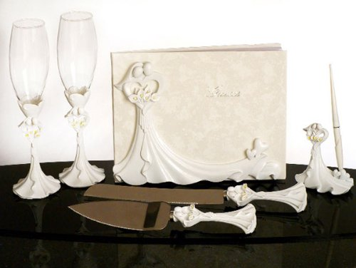 Bride and Groom Calla Lilies Set ()