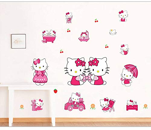 Hello Kitty - Wandsticker
