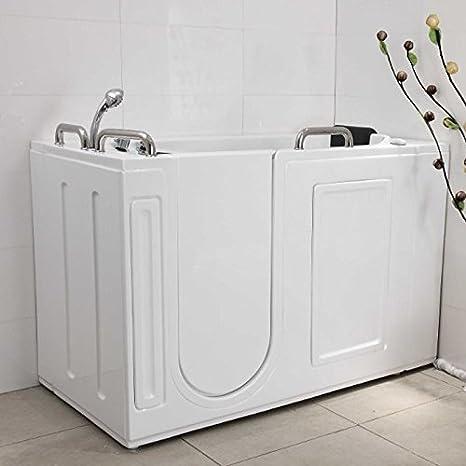 Vasca da bagno con sportello di ingresso per anziani e disabili ...