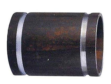 Shurjoint 5724B-G Carbon Steel Nipple Adapter, Black, 2