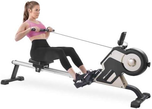 Merax Magnetic Rower Home Rowing Machine