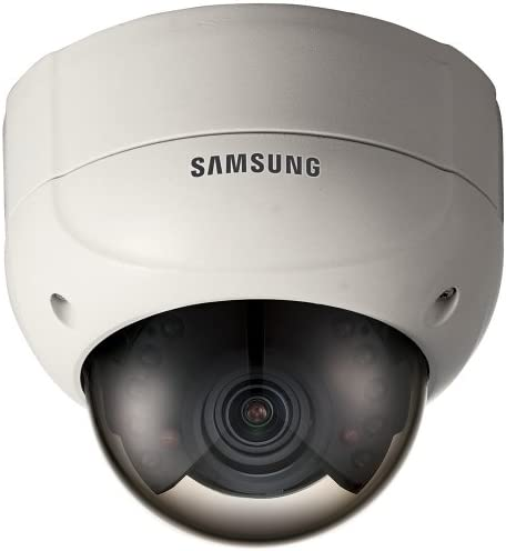 Samsung SCV-2080R Security-Camera Analog-Camera Fixed Domes 1 3 High Resolution IR Vandal-Resistant Dome Camera