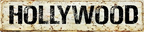 (Any and All Graphics HOLLYWOOD Vintage antique looking 8