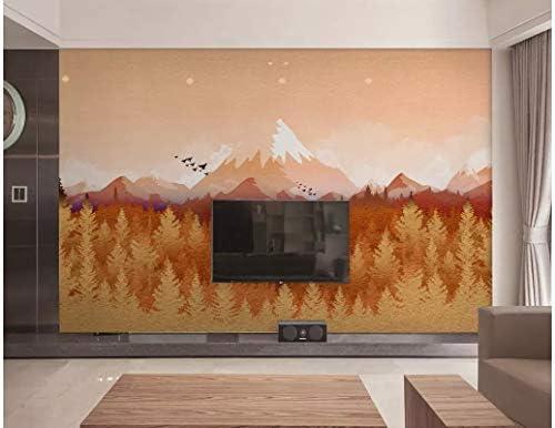 BHXINGMU Mural Niebla Abstracta Pino Montaña De Nieve Gran Sala De Estar Tv Fondo Pared Decoración Del Hogar 50Cm(H)×90Cm(W): Amazon.es: Bricolaje y herramientas