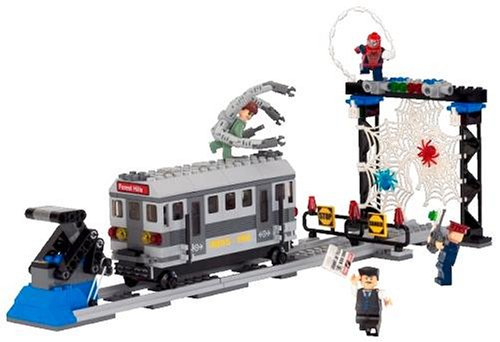 [해외] 레고 (LEGO) 스파이더맨2 열차 자쿠(Zaku)에게서의 구출 4855