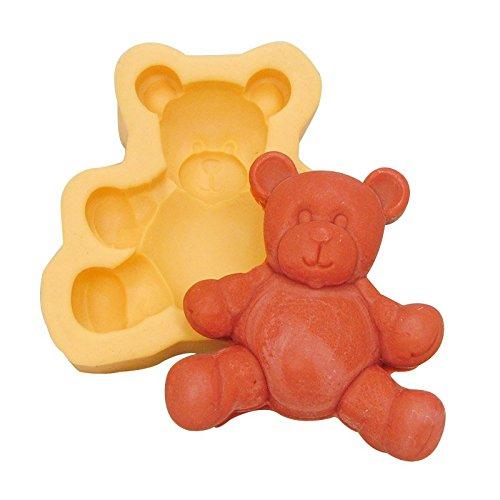 Fluffy Teddy Bear Soap Mold