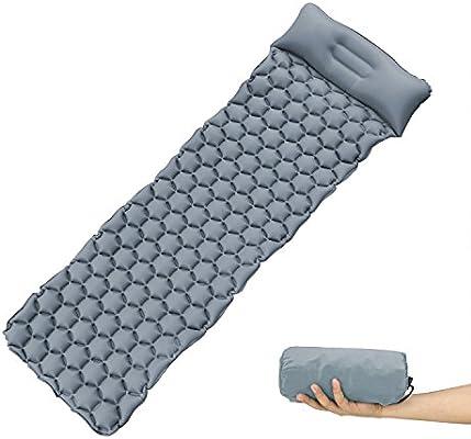 FAMLOVE Sleeping Camping Mat with Pump Self-inflating Camp Pad Air Mattress Inflatable