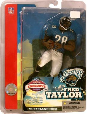 McFarlane Sportspicks: NFL Superbowl 2005 Exclusive U003e Fred Taylor Action  Figure