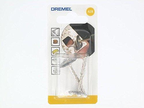 19 mm Dremel 428 Spazzola in Acciaio al Carbonio