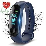 Fitness Tracker,LIGE Color Screen Waterproof Sports Watch Smart Bracelet with Heart Rate Monitor