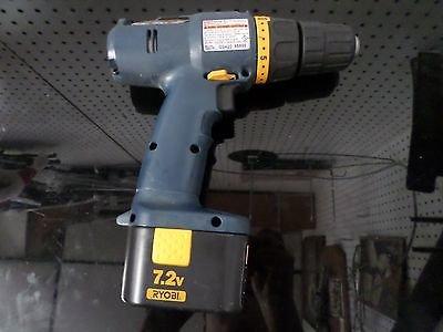 """Ryobi Sa720 7.2v 3/8"""" Cordless Drill/driver"""