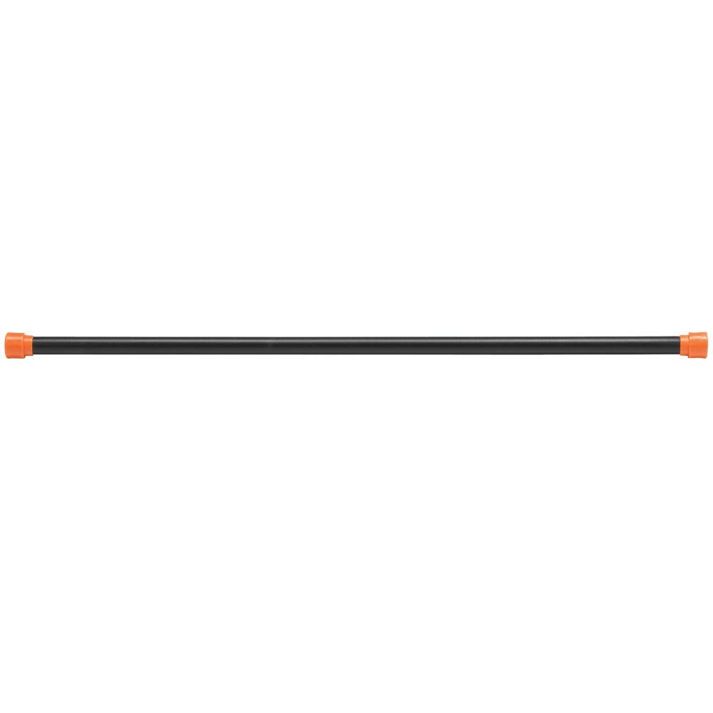 Body-Solid Tools Weighted Bar, 4 Pounds, Orange