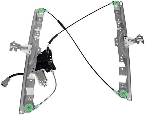 APDTY 859635 Window Motor & Regulator Assembly Fits Front Left 2004-2015 Nissan Titan Pathfinder Armada Infiniti QX56 (Driver-Side; Replaces 80721-7S000, 80721-ZT00A, 80731-9FJ0A) - Left Window Motor Regulator