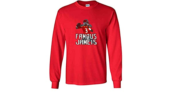 The Silo Long Sleeve RED Tampa Bay Famous T-Shirt