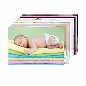 Paper Plane Design New Born Baby Girl/Boy Poster for Wall Pregnant Women Cute Large Posters in Room Bedroom with Big Size Matt Finish, Size – 12 x 18 Inch, Set of 10 Photo