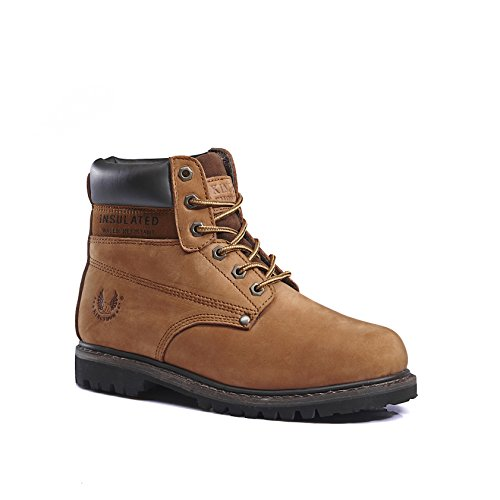 Work Men's Classic Boots KINGSHOW 8007brown 8036 HvqHzt