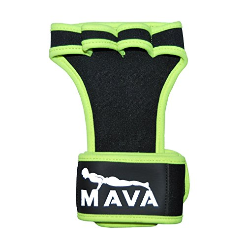 Mava Fitness Gloves: Genuine Gym Gloves With Velcro Integrated