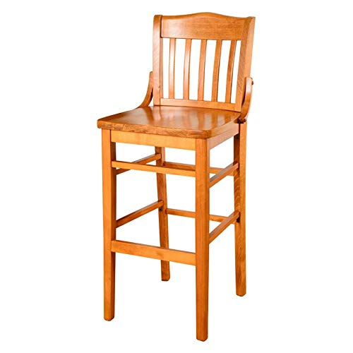 (Beechwood Mountain Schoolhouse Bar Stool in Cherry)