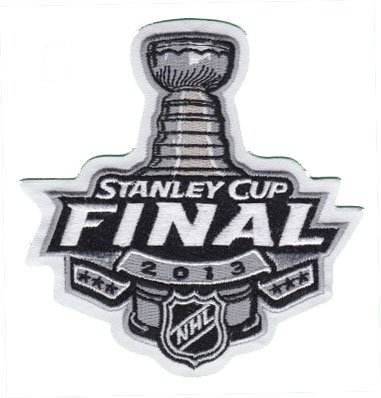 2013 NHL Stanley Cup Final Logo Jersey Patch Boston Bruins vs. Chicago Blackhawks ()