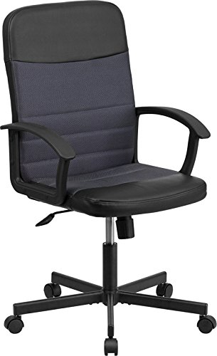 flash-furniture-mid-back-black-vinyl-task-chair-with-dark-gray-mesh-inserts