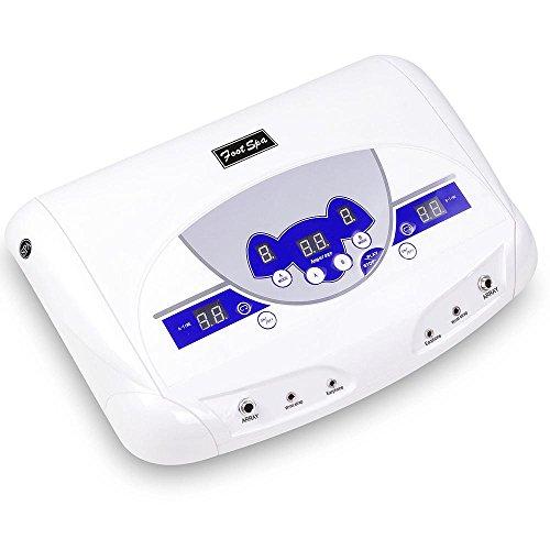 AW Health Care Foot Bath Spa Tool Dual-user Ionic Detox Machine w/ MP3 Music Player Home Beauty Salon