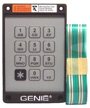 GENIE Garage Door Openers 20235R Keypad Only for (Genie Keyless Entry)