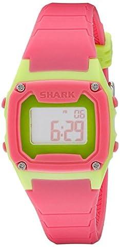 Freestyle Women's 10019184 Shark Classic Digital Display Japanese Quartz Pink Watch (Freestyle Shark Green Watch)