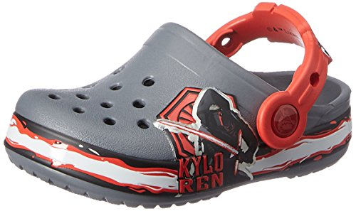 (crocs Kids' Crocband Star Wars Villain Clog (Toddler/Little Kid), Multi, 4/5 M US)