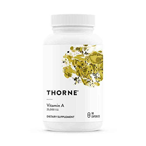 Thorne Research - Vitamin A - Vitamin A for Healthy Vision, Cellular Development, and Immune Function Support - 90 Capsules