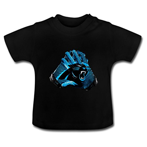 NuWaWa NFL Carolina Panthers Applauded Baby Toddler Juvy Tee Shirt(18 Months)