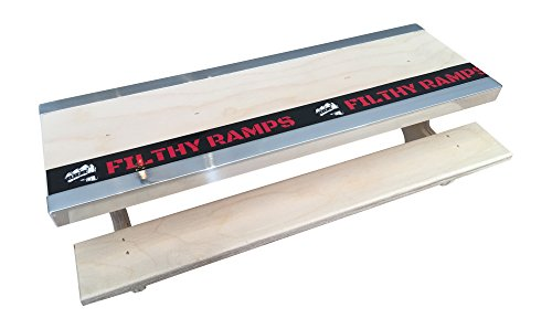 Filthy Fingerboard Ramps Yosemite Picnic Table with Dual Ledges from, for fingerboards and tech Decks by Filthy Fingerboard Ramps (Image #1)