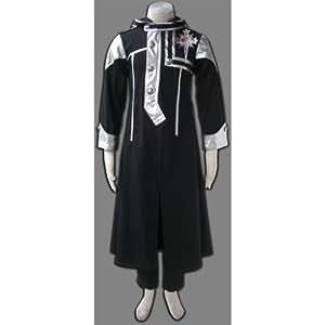 CTMWEB D.Gray Man Cosplay Allen Walker Exorcist uniform 1st Ver XX-Large
