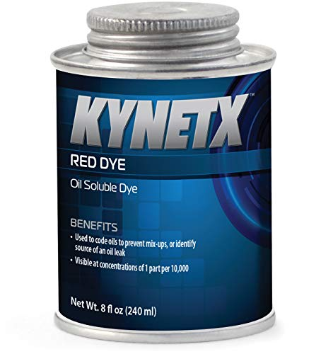 - KYNETX, Red Dye, Concentrated Oil Soluble, 1 Gal Bottle
