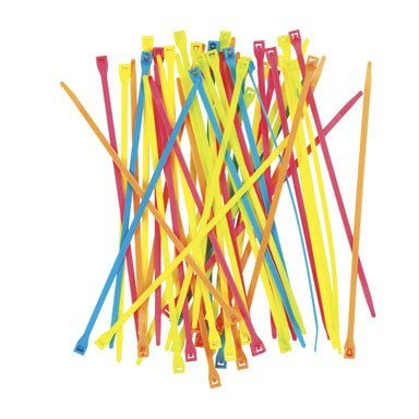 fluorescent cable ties - 1