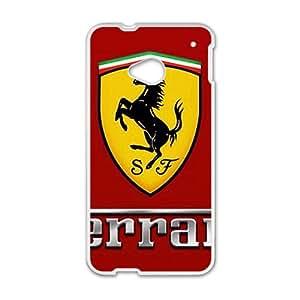 Ferrari White Phone Case For HTC M7