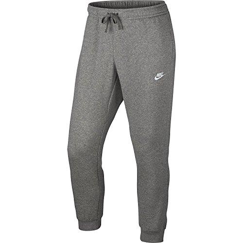 Nike Men's Sportswear Jogger Pants Dark Grey Heather/White Large