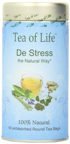 Tea of Life Tea, De Stress, 2.10 oz (60g)