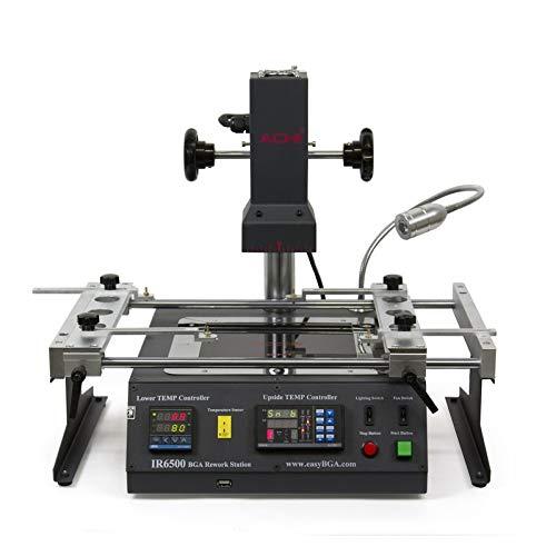 Achi Ir6500 Hot Air Infrared Bga Rework Station USA (Best Ir Bga Rework Station)
